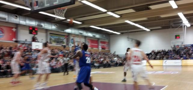 Besuch bei den Rheinstars zum Basketball